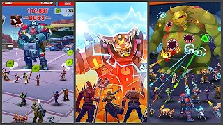 Сlicker idle games rpg: Evolution Heroes of Utopia (Gameplay Android) screenshot 1