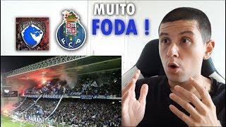 BRASILEIRO REAGINDO A SUPER DRAGÕES DO FC PORTO