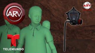 Animación muestra rescate a niños atrapados en una cueva | Al Rojo Vivo | Telemundo