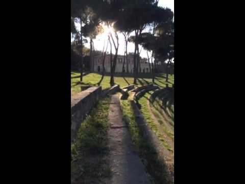 Villa Borghese Gardens in Rome, Italy DigitalNomadFamily.com - World Traveling Family
