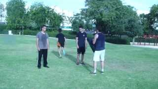 Self Defense With Friends: Explosive Reaction training