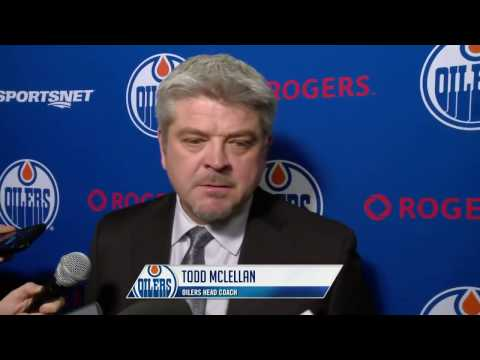 ARCHIVE: Oilers Post-Game Interviews at Colorado