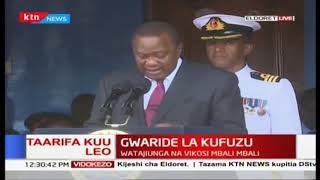 President Uhuru\'s speech during the KDF pass out in Eldoret