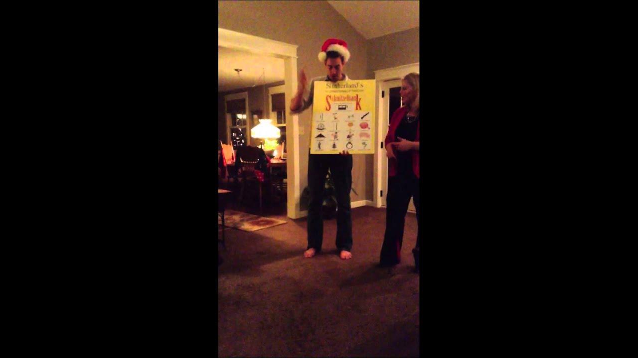 Schnitzelbank at Christmas - YouTube