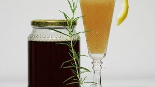 Make A Tasty Rosemary Cinnamon Honey Lemonade - Diy Food & Drinks - Guidecentral