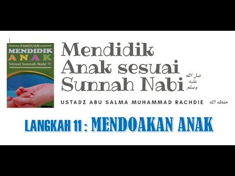 Live PANDUAN MENDIDIK ANAK BAG 11 : DOA