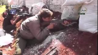 Битва за Идлиб 2015г. Съемка террористов.