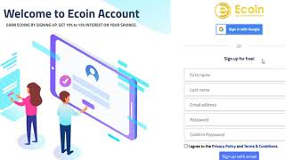 250$ ECOIN Exchange Coin Free Airdrop | Crypto Free Airdrop