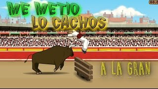 Los Toros de Pamplona Bonito Video Juego Gameplay