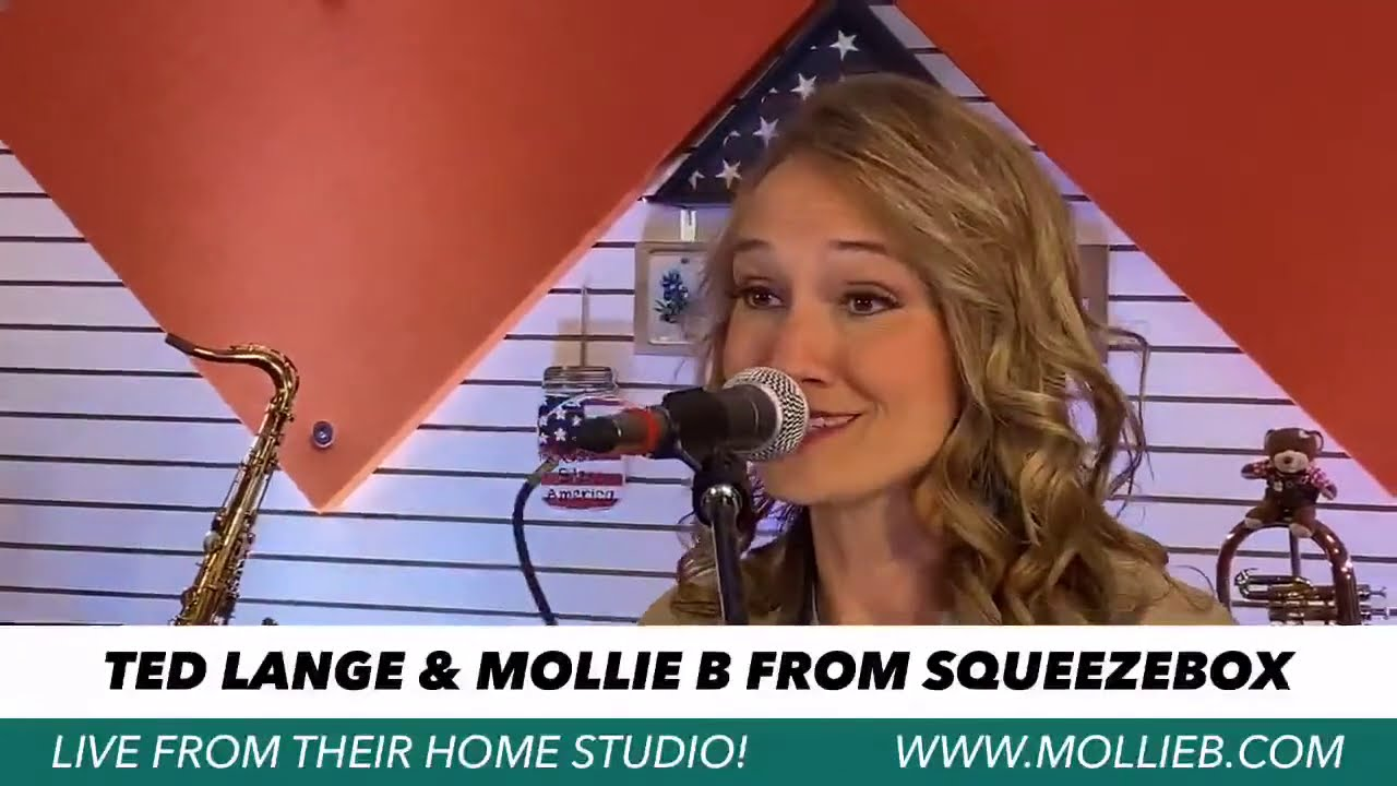 Mollie B & Ted Lange LIVE!!!  Friday Night Special!  Join us!