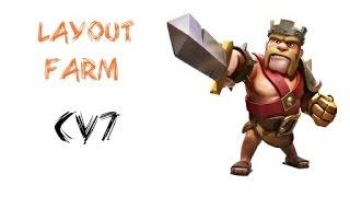 Clash of Clans: layout farm CV7