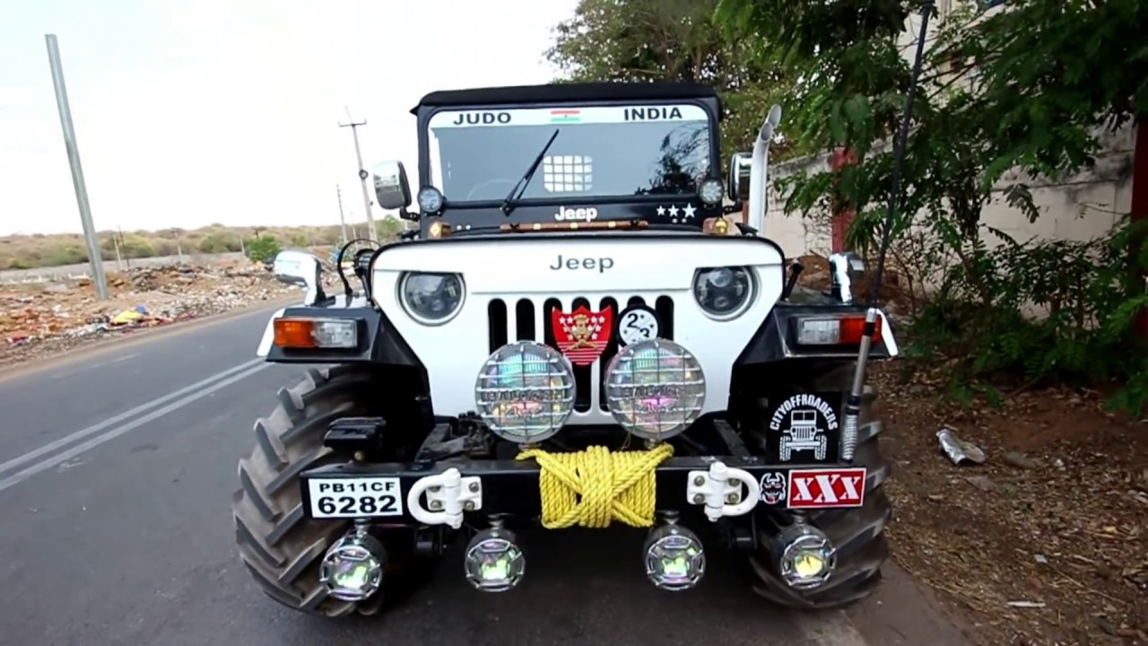 Modified Hunter Jeep In Hyderabad By Ankita Jeep S Ph No