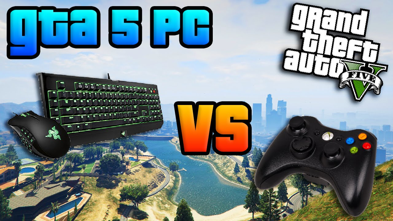 GTA Online PC: Keyboard & Mouse vs Controller - Full Comparison + Breakdown  (GTA 5 PC)