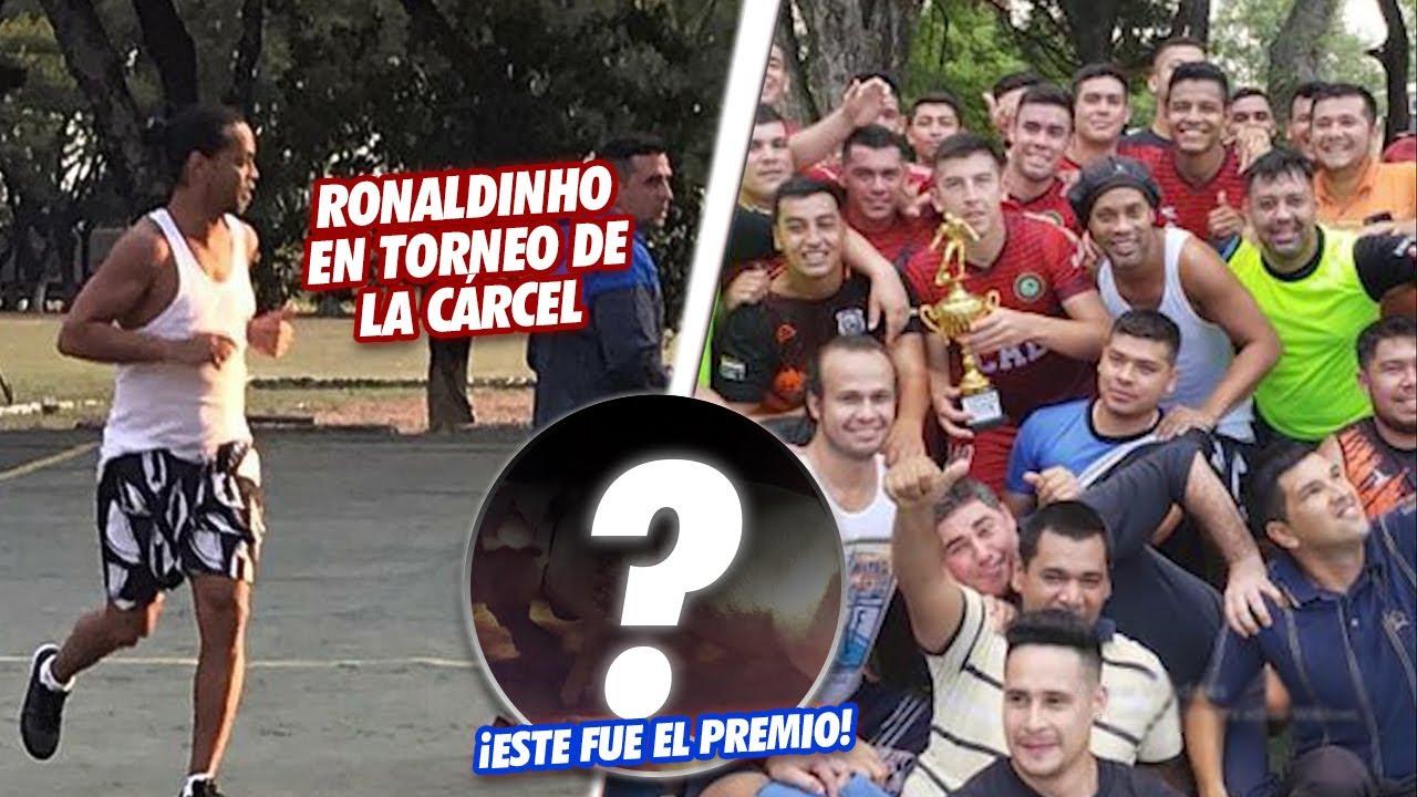 Así fue la INCREÍBLE ACTUACIÓN de Ronaldinho en el TORNEO DE la CÁRCEL ¡ESTE FUE EL PREMIO!