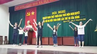 Dân vũ Bước chân Thanh niên   Hè 2016