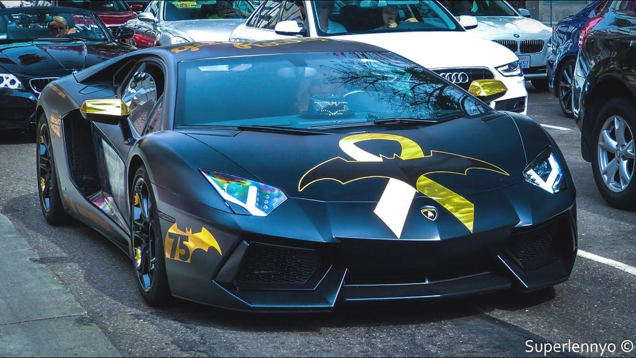 Supercars In Los Angeles Bugatti Lamborghini Ferrari Mclaren