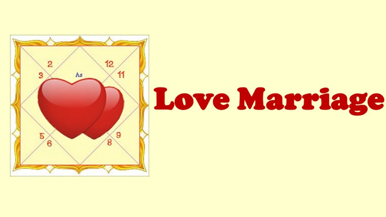 Love Marriage In Astrology – Horoscope
