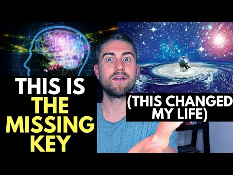 The Secret to Creating your own Reality (this changed my life)
