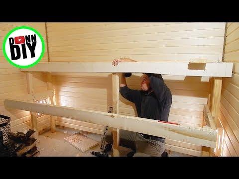 Steam Room Build PART 2/2 - Sauna House Build #13