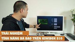 Trải nghiệm tính năng HDMI IN, USB TYPE C, ổ cứng HDD trên KIWIBOX S10