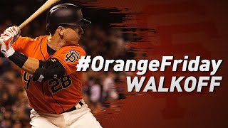 Posey WalkOff Home Run