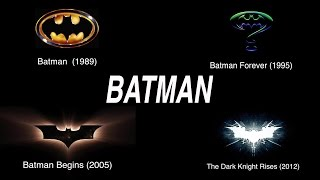 Evolution of Batman Movies Opening Intro! (1989 - 2012)