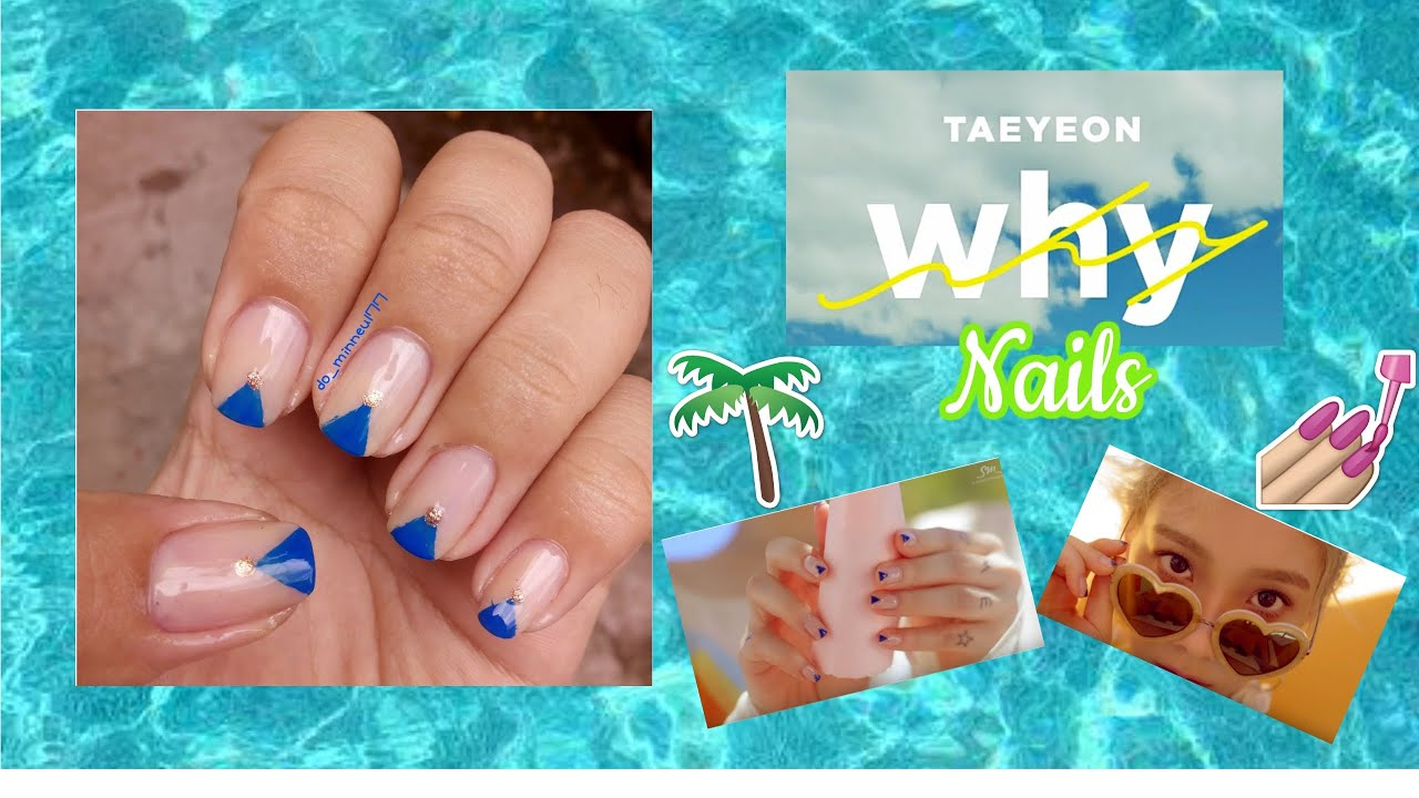 Taeyeons snsd nails in why starlight nail art tutorial taeyeons snsd nails in why starlight nail art tutorial youtube prinsesfo Image collections