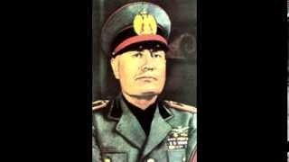 Бенито Муссолини. Итальянская фашистская партия. Аудио-лекция по истории