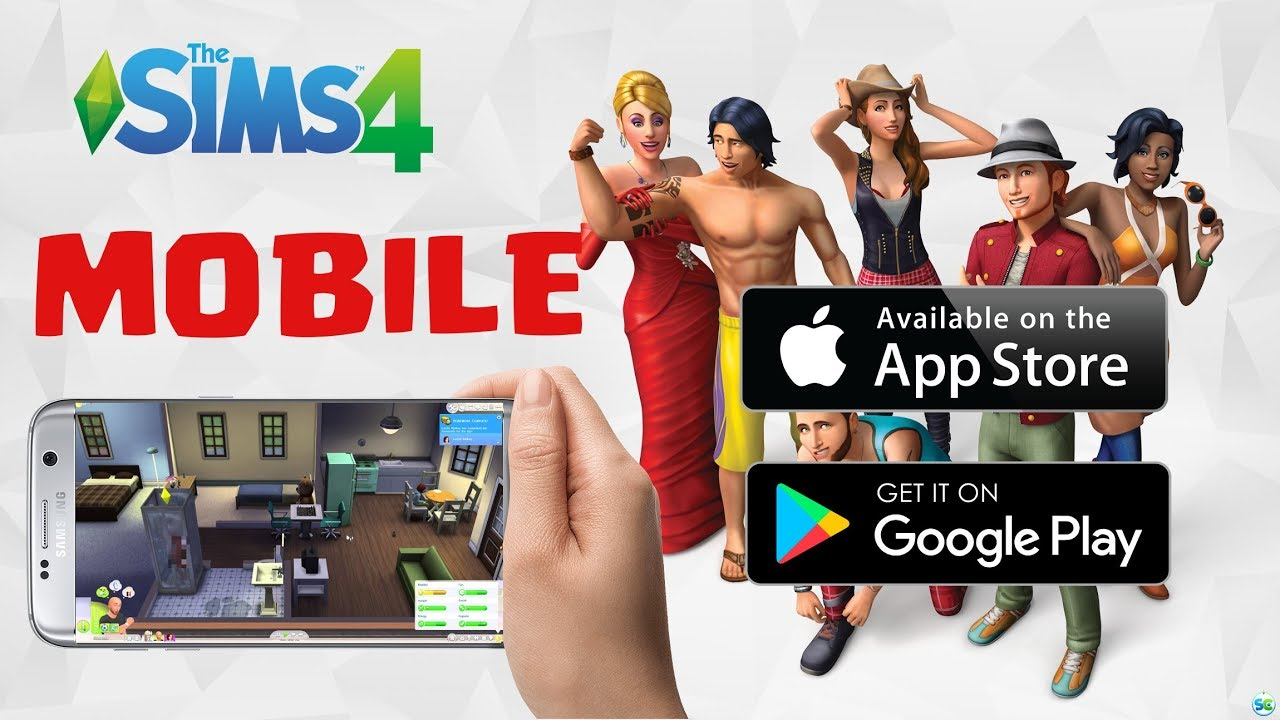sims 4 download free iphone