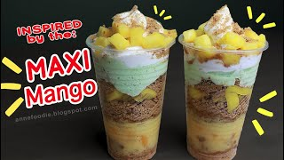Inspired by the Maxi Mango - Mango Graham Float in Cup Recipe