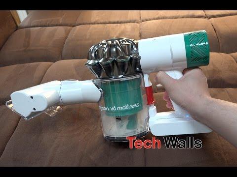 Dyson V6 Mattress Vacuum Cleaner Testing
