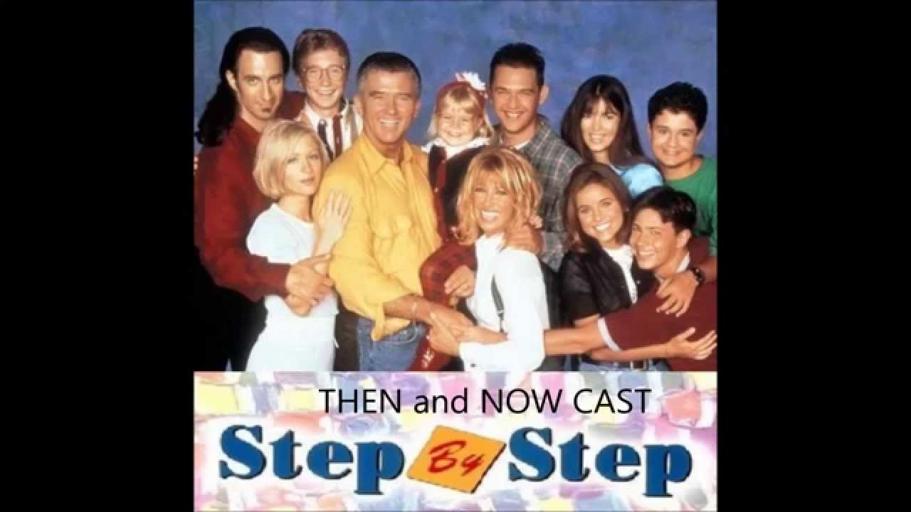 Step by Step Cast then and now - YouTube