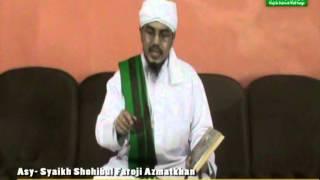 Kajian Kitab Ihya Ulumuddin 3 Bab Ilmu oleh Syekh Shohibul Faroji Azmatkhan