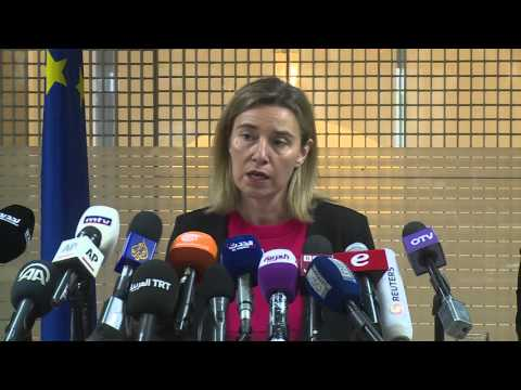 Federica Mogherini visits Lebanon  -  press conference