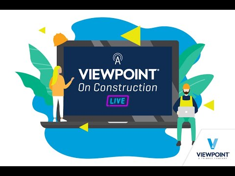 A Viewpoint on Construction Live - Episode 1 - Adapting to Change: Ensure Your Business's Continuity