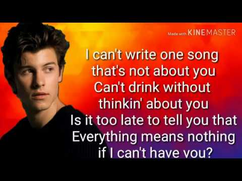 If I Can't Have You By Shawn Mendes Lyrics