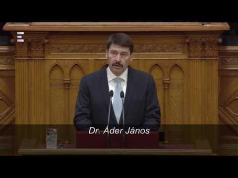 Áder János megnyitja az új Országgyűlést - ECHO TV