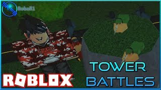 SNIPER TRAINING W/ ROBALL!!! {} ROBLOX - Tower Battles