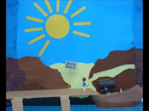 Jona animatie en lied Bouwen aan zijn kerk!