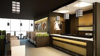 Интерьер ресторана. Дизайн в японском стиле(, 2015-10-13T09:33:52.000Z)