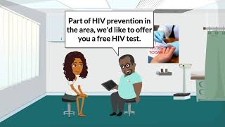 Nice nadia gets tested for hiv -