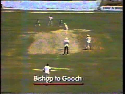 Cricket : West Indies V England 1989-90 - 1st Test Day-5 Highlights