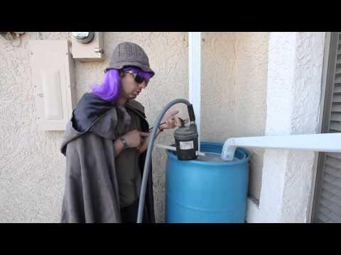 Slow Bio Sand Filtering   Grey water recycling using washing machine
