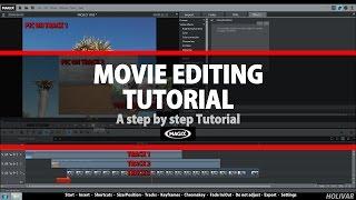 Magix Movie Edit ProTutorial Beginner (All steps) by Holivar