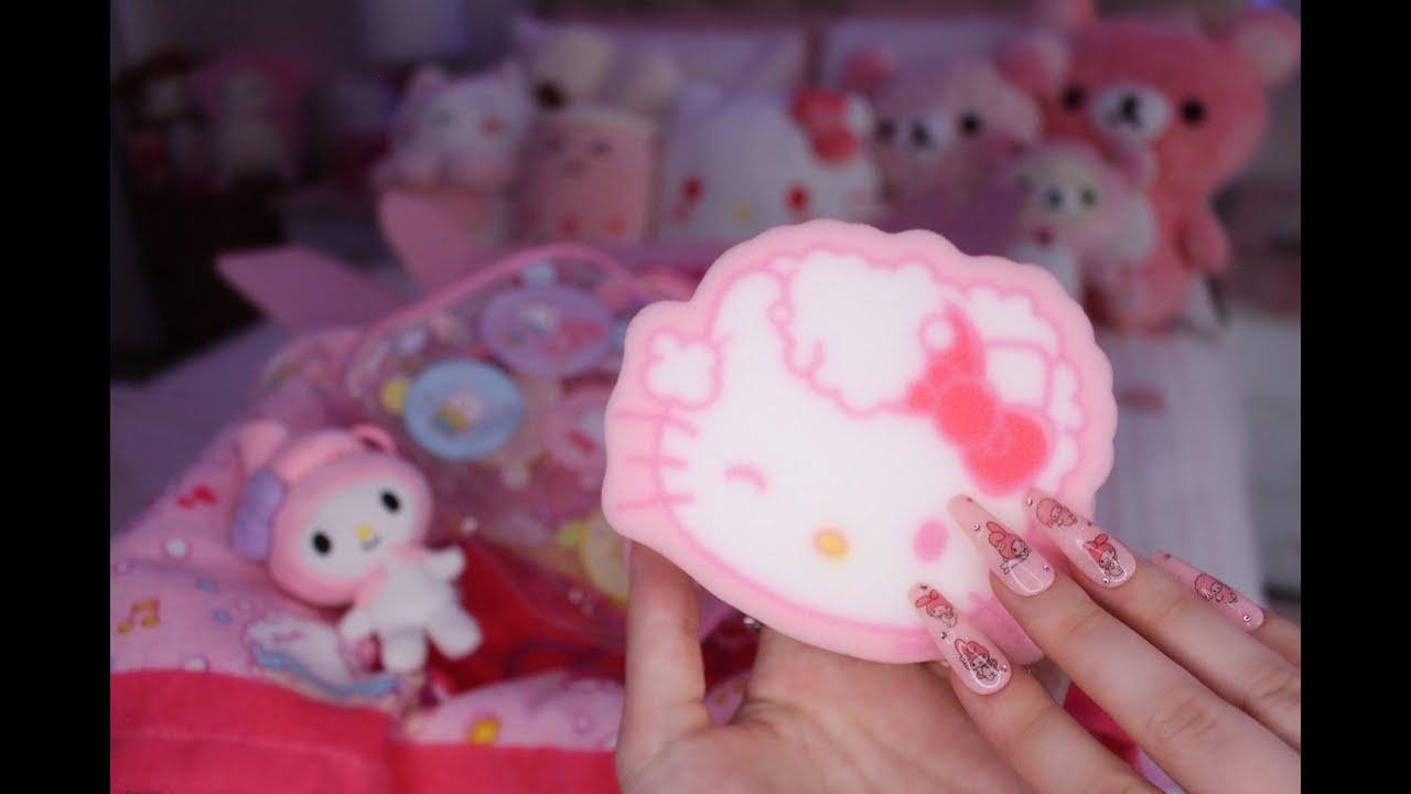 ASMR Unboxing   Hello Kitty Subscription Box 💗