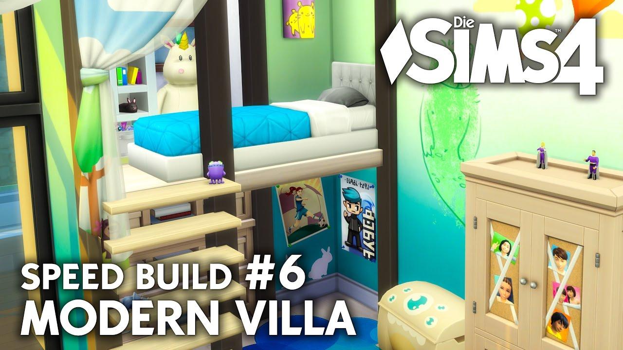 Kinderzimmer bad die sims 4 haus bauen modern villa for Sims 4 dach bauen