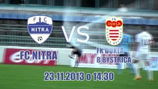 Pozvánka: Futbal Nitra vs. Banská Bystrica 23.11.2013