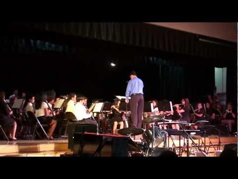 La Mesa Jr. High Adv Band--Crystal City Overture
