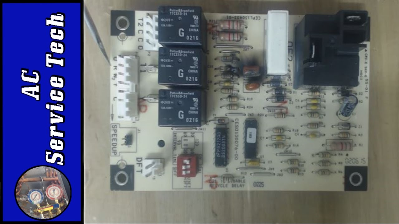 DEFROST Control Board Wire Terminal Functions! Heat Pump Defrost Cycle Explaination!  YouTube
