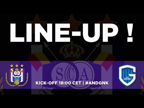 RSCA - KRC Genk: the starting line-up!